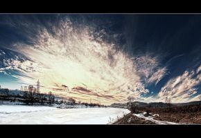 Frozen River by iustyn