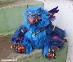 Zutphen the Baku doll Missmonster x Remjie collab by missmonster
