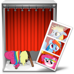 Photobooth icon: My Little Pony by LaceOfTheMoon