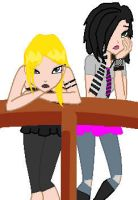 Tarja and Cyla are bored by ezzliej
