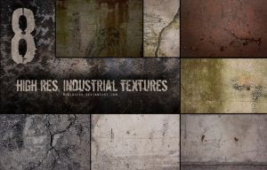 Industrial texture pack 01 by SketchyTas