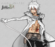 Allen Walker by hanafiore