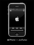 AveDesk: iPhone + aveTunes by cwsm