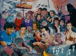 """Pool Party"" by davidmacdowell"