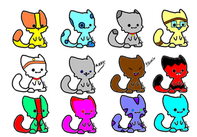 FREE! cat/kitten adopts! by FrankinPoodle