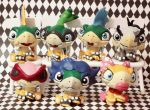 Koopalings inspired LPS customs by pia-chu