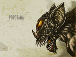 #31DaysOfMonsters Day 29: Popobawa by franciscomoxi