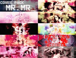 SNSD MR.MR COVER PACK by MinBoyVSoneshowroom