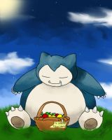 Snorlax by ArchXAngel20