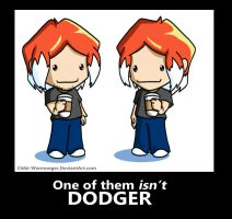 One of them ISN'T DODGER by Chibi-Warmonger