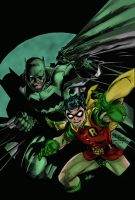 All Star Batman And Robin by Inhuman00