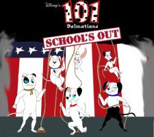 101 Dalmatians: School's Out by Trey-Vore