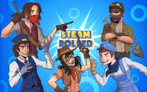 Updated Steam Rolled Wallpaper by CauseImDanJones