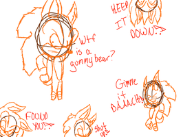 Some doodles -3- by Ask-Drunk-Sonic-EXE