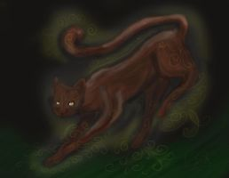 Running with starclan by Cutestuffrocks