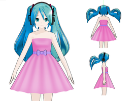 MMD - Dress by SuminoChan