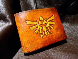 leather Zelda Wallet by Skinz-N-Hydez