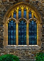 Stained Glass Window 1 by Textures-and-More