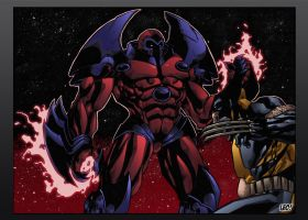 Onslaught : Color version ! by SpideyCreed
