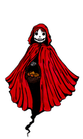 Little Red Riding Ghost by bluemoon-alice