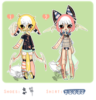 Flying Foxes Adopts {CLOSED} by chuguri