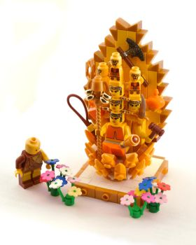 LEGO Bodhisattva by Mister-oo7
