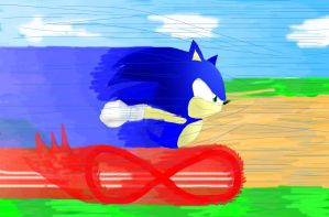 Sonic Speed by doodle-guy7