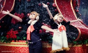 Kagamine Twin - Seasons Greetings by vaxzone
