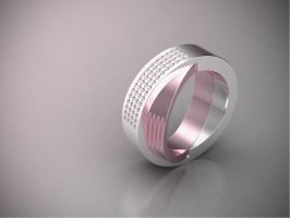 Pink ring by mousek