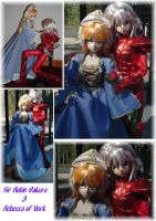 Sir R Bakura R. York BJD Dolls by SetsunaKou