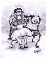 Lolita in the snow. by PeterPan-Syndrome