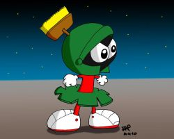 Marvin the Martian by JimmyCartoonist
