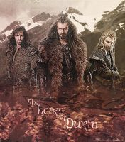 the Heirs Of Durin by Super-Fan-Wallpapers