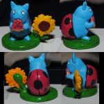 Catbug Figure For  Faithinarhyme by ChristalFir3