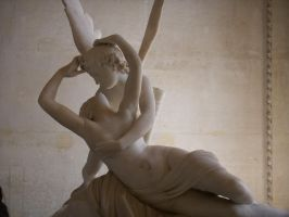 Cupid and Psyche by fayfairy