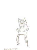 An Animated Doodle of Finn by JoeWierenga