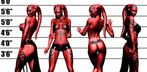 Darth Talon - The Line Up by Aphrodite-NS