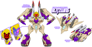 Decepticon Blitzwing by Tyrranux