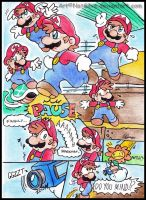 Mario: Problem Paused. by NatSilva