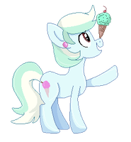 Cool Treat Pixel [Commission] by Maddymoiselle