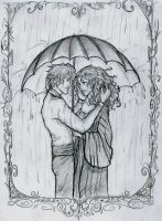 Love Under an Umbrella by Hillary-CW
