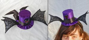 Tiny Top Hat: The Black Bat by TinyTopHats