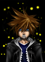 Sora kingdom hearts by Nerichiru