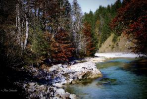 Blue creek. by Phototubby