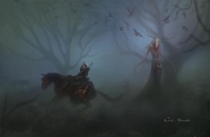 Witcher 3 - Leshen by Carlo-Marcelo