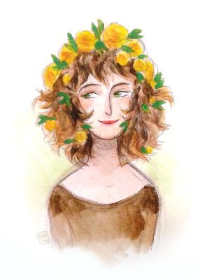 Yellow Roses by MargoDraws