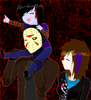 Here Walks the Voorhees Family by sam-the-vampire