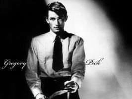 Gregory Peck by vive-la-joie
