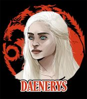 Daenerys selected by Dynamaito
