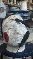 Plaster Head (Almost done) by CodasHorizon